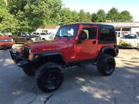 2006 Jeep TJ RUBICON, LIFTED! FINANCE NOW!