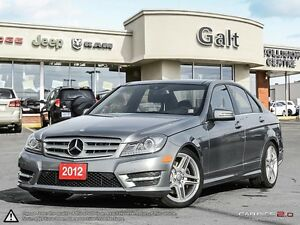 2012 Mercedes-Benz C-Class C350 | 4MATIC | NAVIGATION | LEATHER