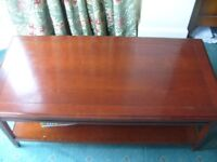 Good Quality GRANGE France Solid Cherry Coffee Table