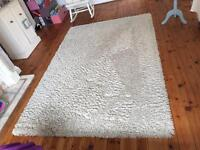 "7'6""x 5'3"" 230x160cm large ivory Dorchester rug must go asap"