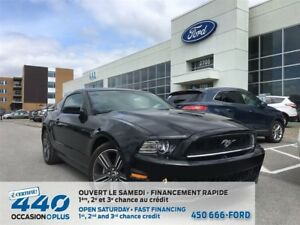 2013 Ford Mustang | 3.7L V6, MANUEL, COUPÉ, 8 ROUES