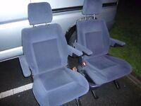 freestanding 2x van seats good condition £50 each