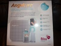 Angel care digital video, movement and sound baby monitor