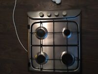 Hotpoint stainless steel hob