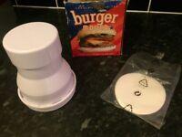 Lakeland burger maker