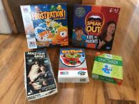 Bundle of 5 family board games