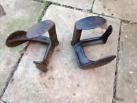 Vintage Shoe Lasts x 2