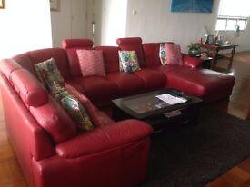 Sofa Modular Australian Made 100% Quality Leather
