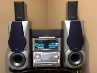 Aiwa XH A1000 5.1 Dolby Digital Sound System - 1000 Watts - Very Powerful & rare - BARGAIN RRP £800