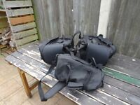 Expandable touring saddle bags great quality