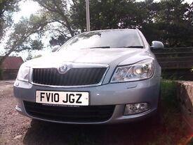 mint ,low mileage OCTAVIA full history 2010 facelift estate