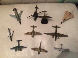 Selection of metal planes