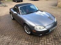 Mazda MX-5 1.6 Euphonic Limited Edition, Heated seats, Big brake pack, 4 nearly new tyres, Leather