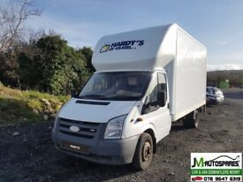 2008 Ford Transit 2.4Tdci 6speed 115bhp Rwd twin axle **Breaking Only Spare Parts Avalable**