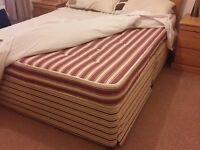 King size bed to someone who needs it and can collect. Bed is not in perfect condition.