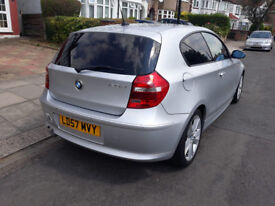 BMW 1 Series 2.0 120d SE Diesel Automatic 5 seater FULL SERVICE HISTORY. HPI Clear