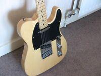 Telecaster guitar..partscaster..New Fender neck..Swap for strat?