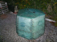 Large six sided ex-council compost bin