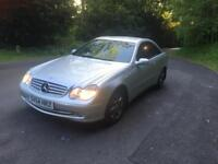 SILVER MERCEDES-BENZ CLK -IN ABSOLUTELY PRISTINE CONDTION FOR SALE