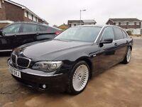 56 REG BMW 730LD SE AUTO,BLACK,NEW MOT,1 FORMER KEEPER,2 KEYS,90K MILES ONLY!!!!