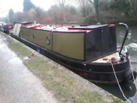 Narrowboat 60ft project narrow boat