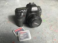Canon 5D Mark II mk 2 + 50mm 1.8 + KomputerBay 64gb card etc