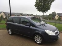 Vauxhall Zafira 1.8 i 16v Elite 5dr 7 seater Petrol 2010 Only 66k Miles Long MOT