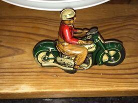 SHUCO CURVO 1000 1950's All Tin Motorcycle