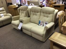 2 Seater Sofa & Recliner Chair Hand made by Royams Lancashire
