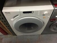 MIELE 6KG 1400 SPIN A+ WASHING MACHINE WHITE RECONDITIONED