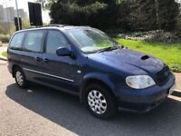 Kia Sedona 2.9 CRDi L 5dr . 7 SEATER. Low 76k mileage, Service History. Very good runner!