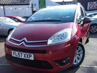 Citroen C4 Grand Picasso 1.6HDi 16V VTR Plus 5dr EGS (red) 2007
