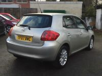 2007 TOYOTA AURIS T3, 1.4, 5DR, MOT TILL APRIL 2018, NEW CLUTCH, HPI CLEAR, 2 KEYS, NO OFFERS