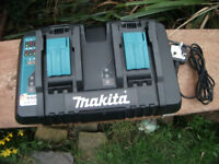 Dual Makita 7.2v - 18v Double Rapid Intelligent Charger! 50 No offers!
