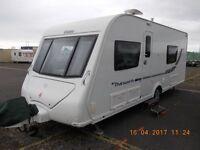 Eldiss touring caravan