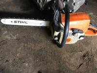 Stihl ms 250 chainsaw