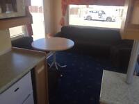 2 bedroom static caravan rent
