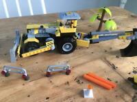 Digger Lego style set