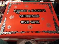 MAGNETIC CHRISTMAS EVE BOX - PERSONALISED - EMPTY