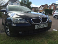 BMW 525d AUTO BLACK full service history, cream interior, just serviced