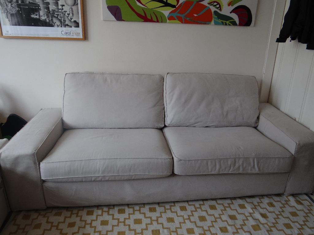 Ikea 2 Seater Kivik Sofa Grey Only Buy Sale And Trade Ads