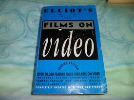 ELLIOTS FILMS ON VIDEO ( SECOND EDITION )