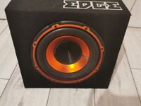 SUB WITH AMP (sell or swap)