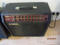 """Yamaha DG60 combo, excellent condition, DG Stomp in a box!. effects loop., 12"""" speaker"""