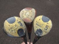 *** MCX DRIVER WOOD GOLF CLUBS 1, 3, 5 ~ USED CONDITION £10 *** 07739 329 389