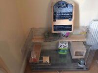 Degu, guinea pig and chinchilla cage