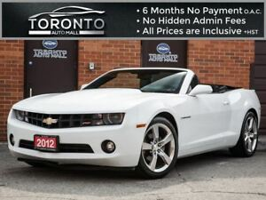 2012 Chevrolet Camaro 2LT+RS PACKAGE+LEATHER+HEADS IP DISPLAY+BO