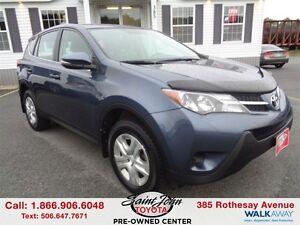 2013 Toyota RAV4 LE $174.42 BI WEEKLY!!!