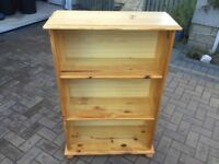 Pine Bookshelf- good condition