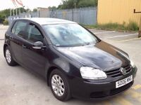 V.W GOLF 1.9 TDI SE BLACK,HPI CLEAR,1 OWNER,1 YEAR M.O.T,CRUISE CONTROL,ALLOYS,A/C,4 NEW TYRES